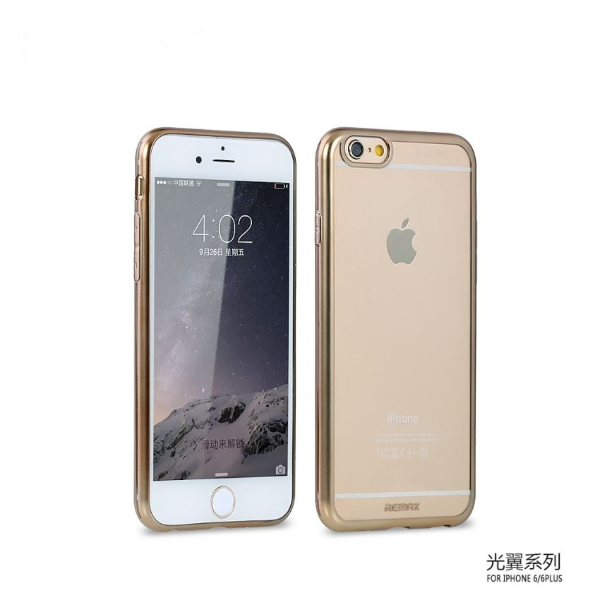 LIGHT WINGS PLATING SLIM CASE ANTI FINGERPRINT FOR IPHONE 6 AND 6 PLUS